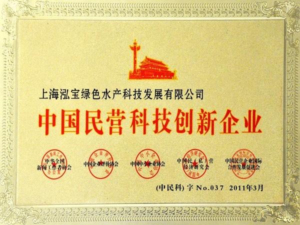 泓宝-2011年中国民营科技创新企业