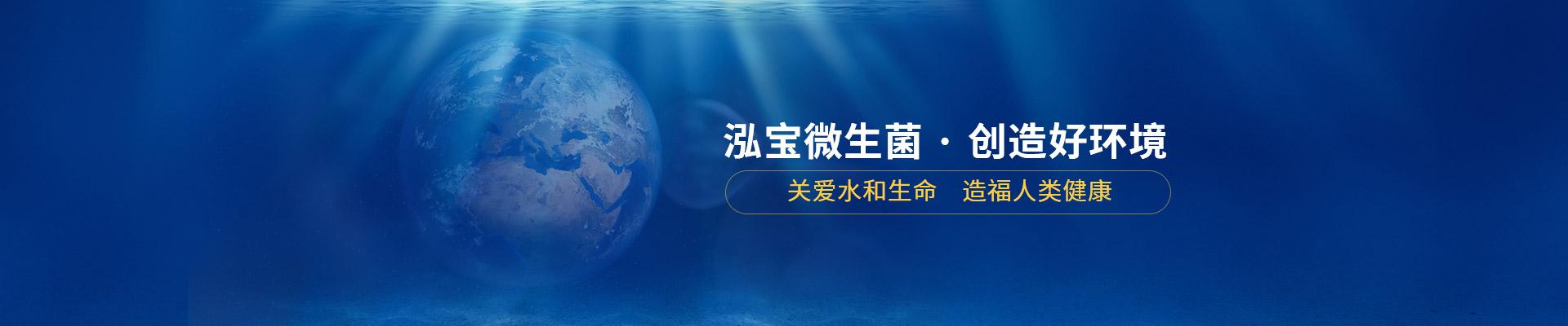 泓宝微生菌 · 创造好环境    关爱水和生命,造福人类健康